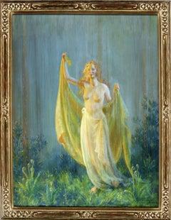 Sunshine and Rain, Semi Nude women in joyful moment
