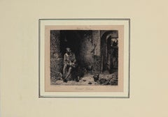 Bernard Palissy - Original Etching by Charles Courtry - 1897