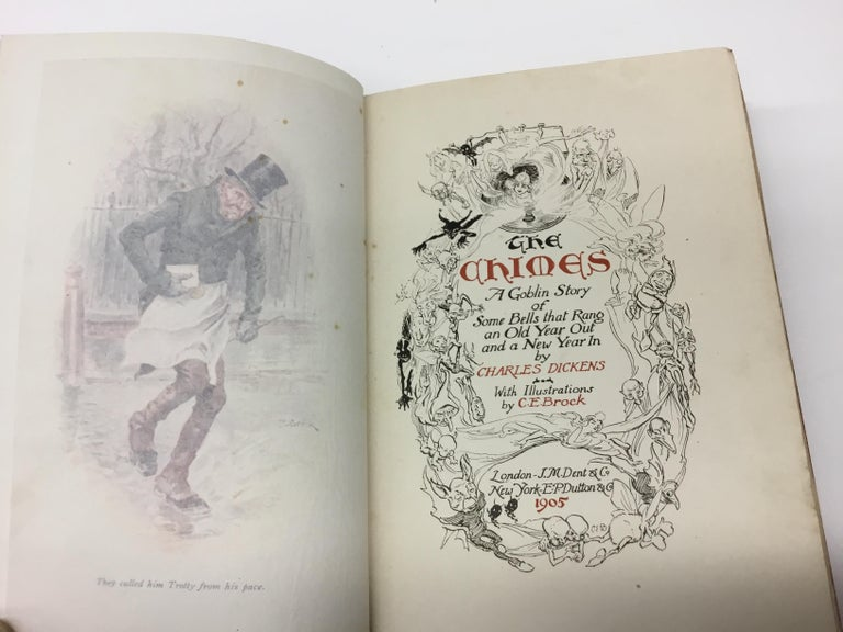 Charles Dickens Christmas Books, Special Illustrated Edition Set of Five For Sale 6