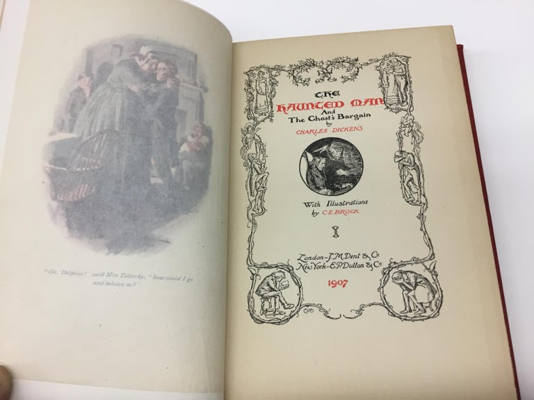 Charles Dickens Christmas Books, Special Illustrated Edition Set of Five For Sale 1