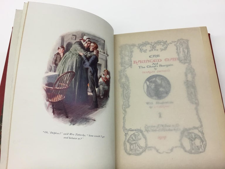 Charles Dickens Christmas Books, Special Illustrated Edition Set of Five For Sale 2