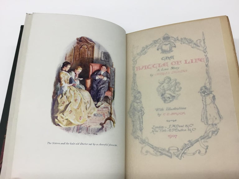 Charles Dickens Christmas Books, Special Illustrated Edition Set of Five For Sale 3