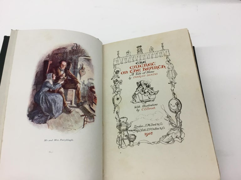 Charles Dickens Christmas Books, Special Illustrated Edition Set of Five For Sale 4
