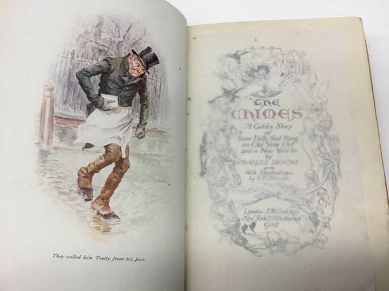 Charles Dickens Christmas Books, Special Illustrated Edition Set of Five For Sale 5