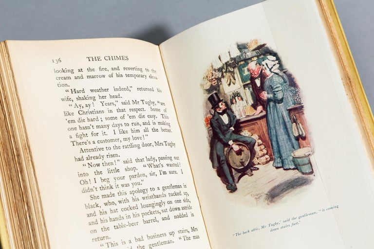 Early 20th Century Charles Dickens, The Chimes For Sale