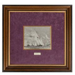 Charles Dixon R.A. for King George V, Royal Yacht Britannia