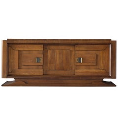 Charles Dudouyt Art Deco Credenza, 1930s