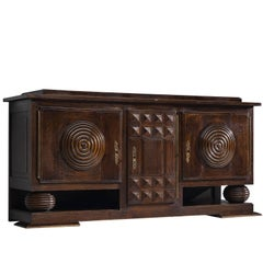 Charles Dudouyt Art Deco Credenza, circa 1925