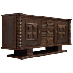 Charles Dudouyt Art Deco Credenza