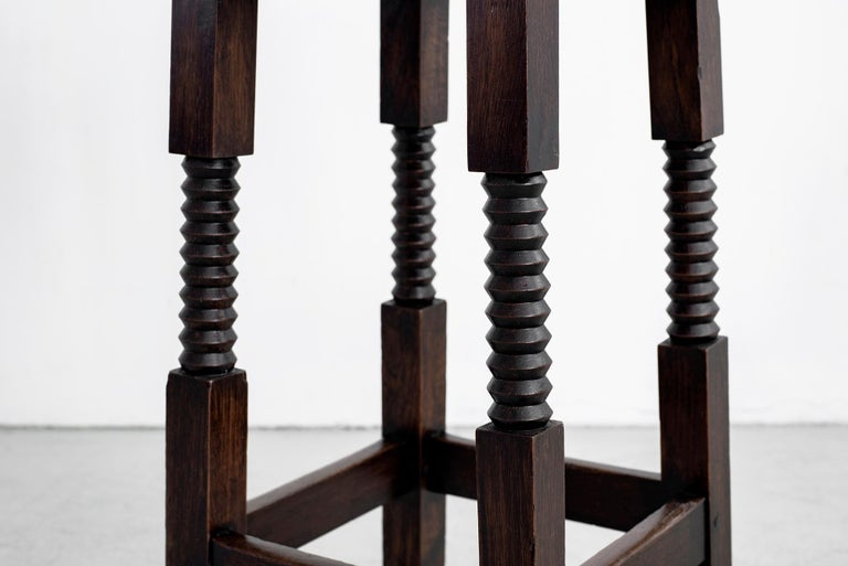 French Charles Dudouyt Barstools