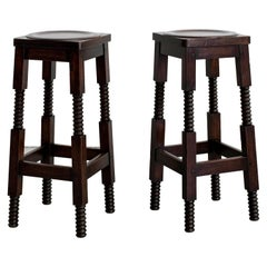 Charles Dudouyt Barstools
