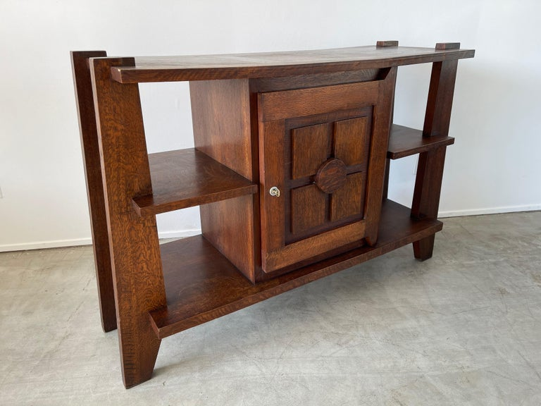 French Charles Dudouyt Cabinet For Sale