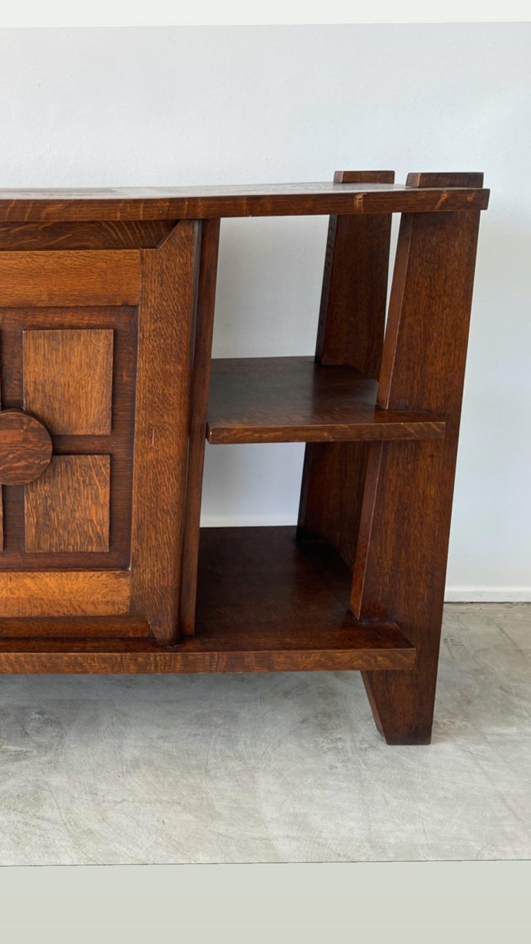 Mid-20th Century Charles Dudouyt Cabinet For Sale