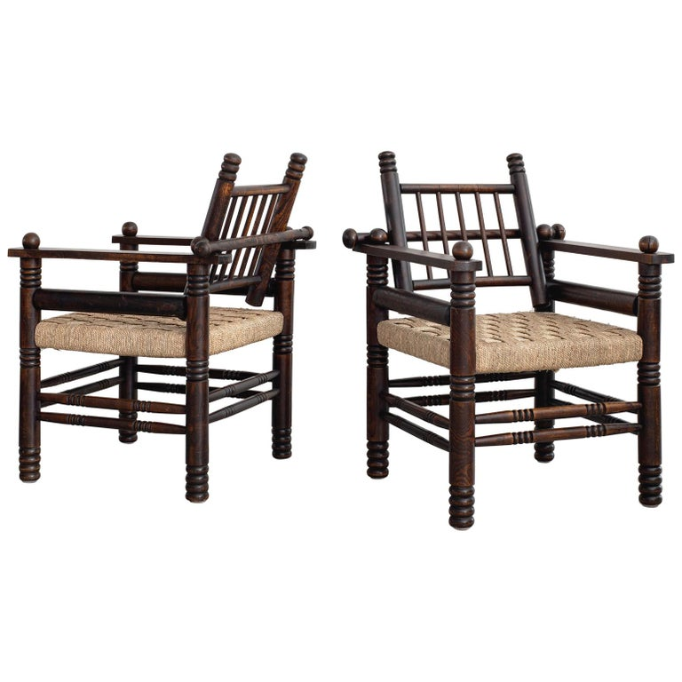 Charles Dudouyt Chairs For Sale