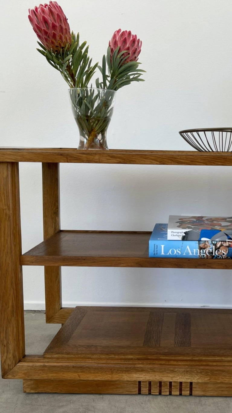Charles Dudouyt Console Table For Sale 5