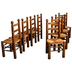 Charles Dudouyt Dining Chairs