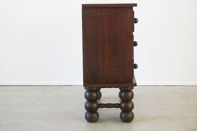 Oak Charles Dudouyt Dresser For Sale