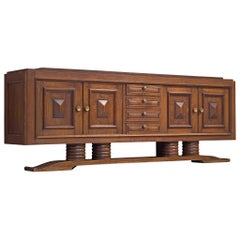 Charles Dudouyt Large Art Deco Credenza