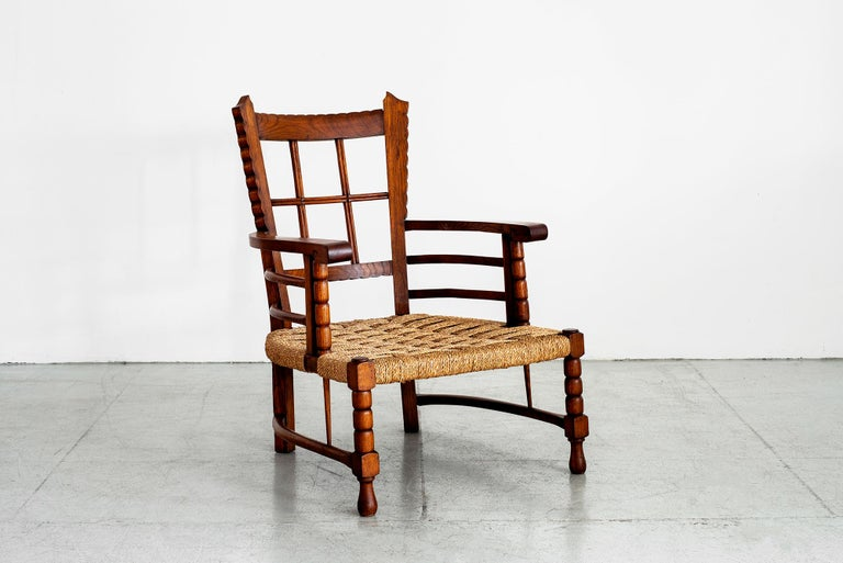 Rush Charles Dudouyt Lounge Chairs For Sale