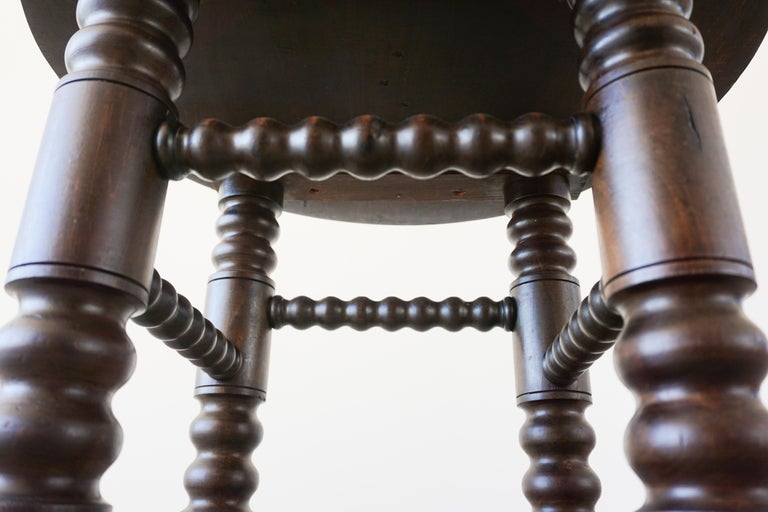 Charles Dudouyt Side Table For Sale 3