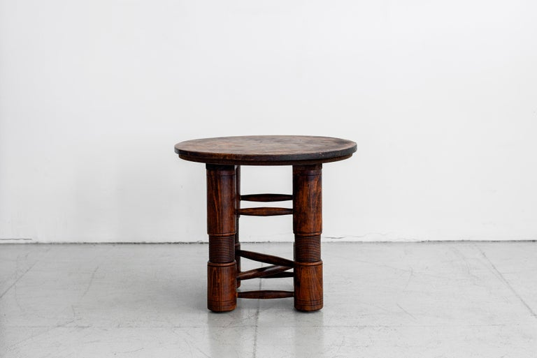 Mid-Century Modern Charles Dudouyt Side Table