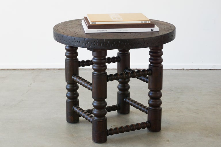 Charles Dudouyt Side Table In Good Condition For Sale In Los Angeles, CA