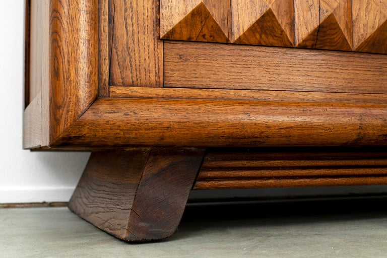 Charles Dudouyt Sideboard, circa 1930s For Sale 4