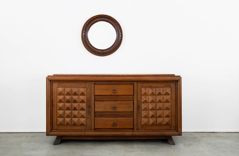 Charles Dudouyt Sideboard, circa 1930s For Sale 6