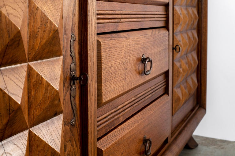 Charles Dudouyt Sideboard, circa 1930s For Sale 7