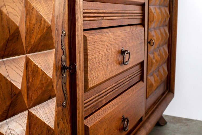 Charles Dudouyt Sideboard, circa 1930s For Sale 8