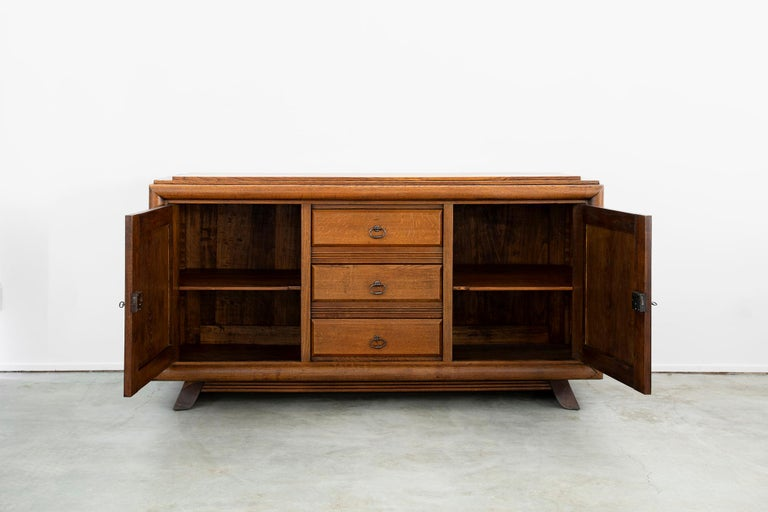 Charles Dudouyt Sideboard, circa 1930s In Good Condition For Sale In Los Angeles, CA