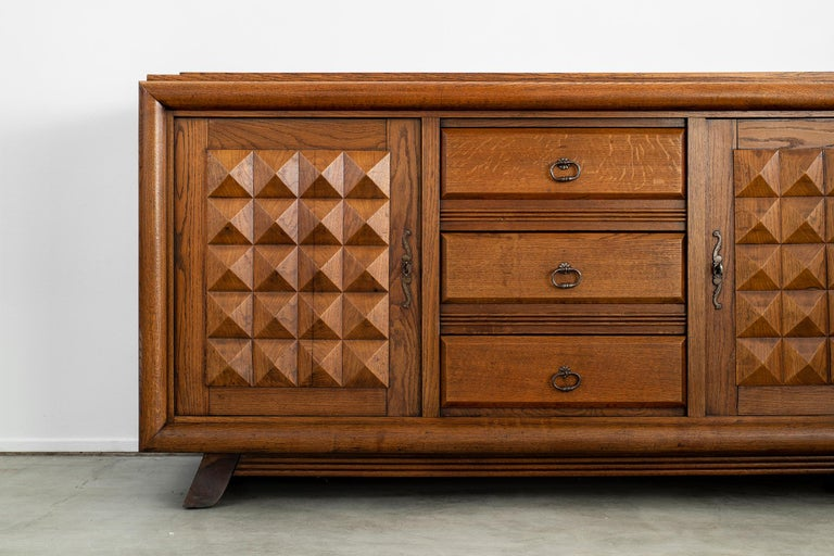Charles Dudouyt Sideboard, circa 1930s For Sale 1