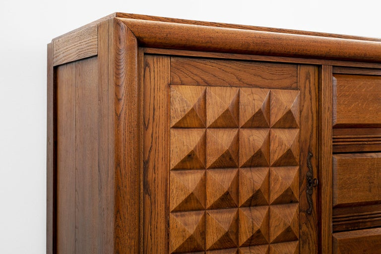 Charles Dudouyt Sideboard, circa 1930s For Sale 2