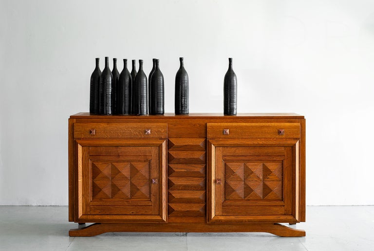 French Charles Dudouyt Sideboard For Sale