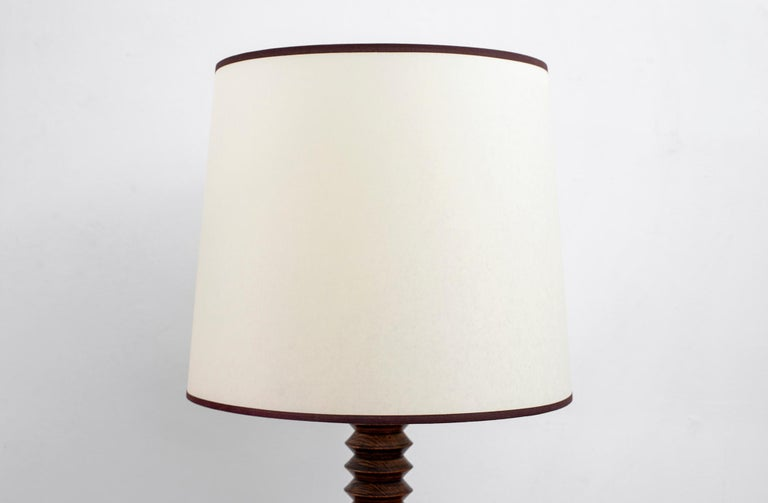 Mid-20th Century Charles Dudouyt Table Lamp For Sale