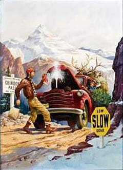 Chinook Pass, Outdoor Life Magazine Cover