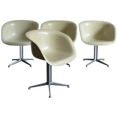 Charles e Ray Eames La Fonda Midcentury Armchairs for Herman Miller, 1960s