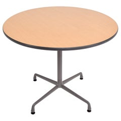 Charles Eames Aluminum Group Office Table or Cafe Bistro for Herman Miller 1960s