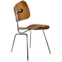 Charles Eames DCM Wallnut Chair by Herman Miller
