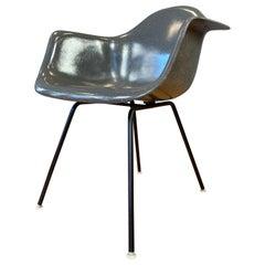 Charles Eames Flame Logo Fiberglass Shell Armchair for Herman Miller