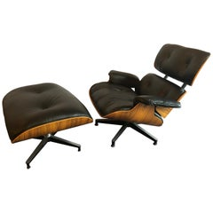 Charles Eames for Herman Miller Lounge Chair And Ottoman New Fine Leather
