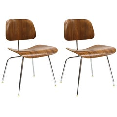 Charles Eames for Herman Miller Midcentury DCM Chairs