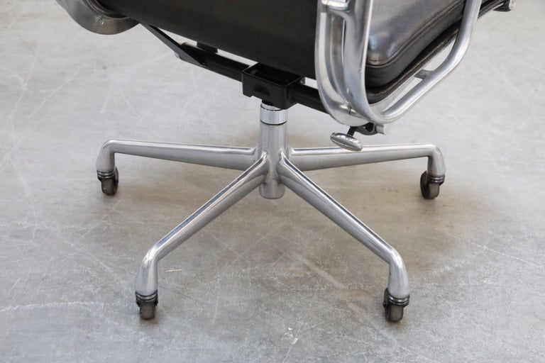 Charles Eames for Herman Miller Soft-Pad Executive Desk Chairs, Signed For Sale 12