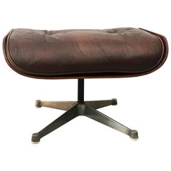 Charles Eames for Herman Miller Style Leather Ottoman