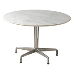 Charles Eames for Knoll, Round Segmented Dining Table, circa 1964