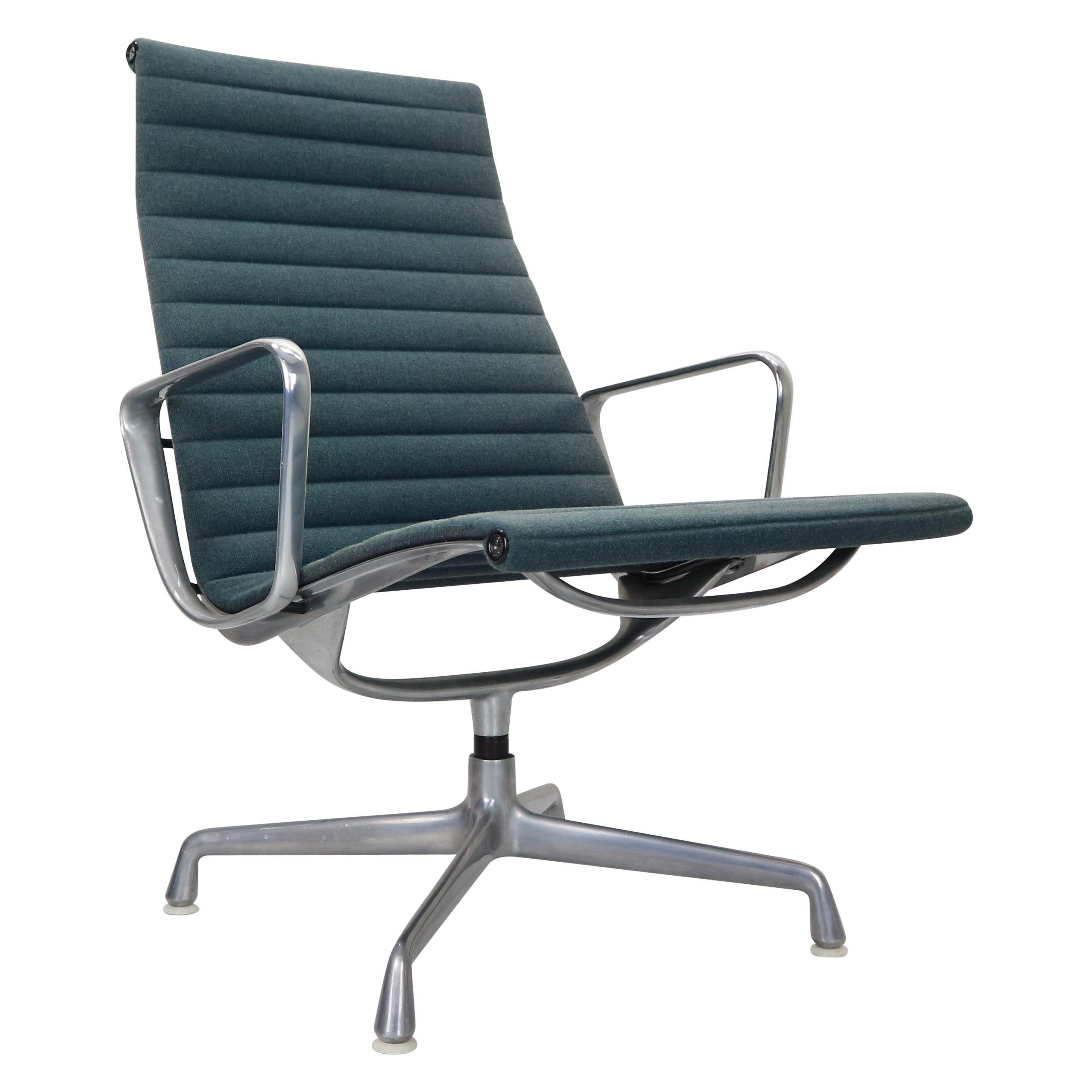 "Charles Eames for Vitra ""EA 116"" Hopsack Lounge Swivel Armchair"