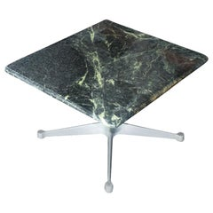 Charles Eames Herman Miller Green Marble Side Coffee Table