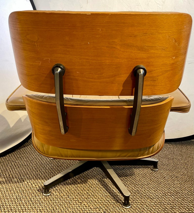Charles Eames, Herman Miller Midcentury Chair and Ottoman 8
