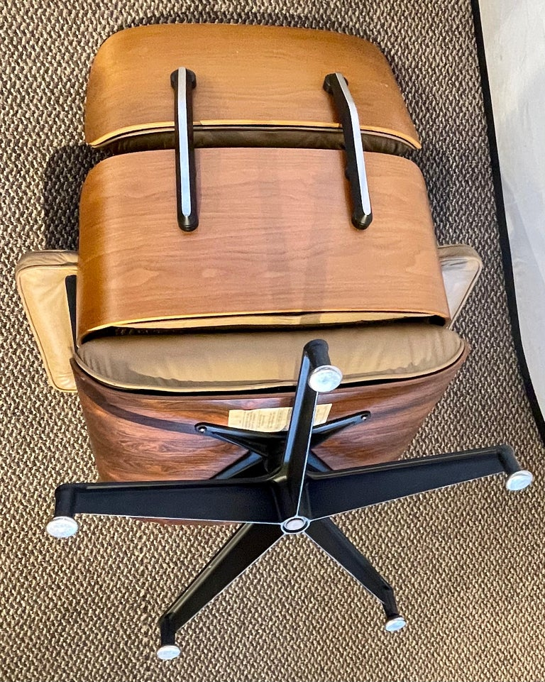 Charles Eames, Herman Miller Midcentury Chair and Ottoman 11