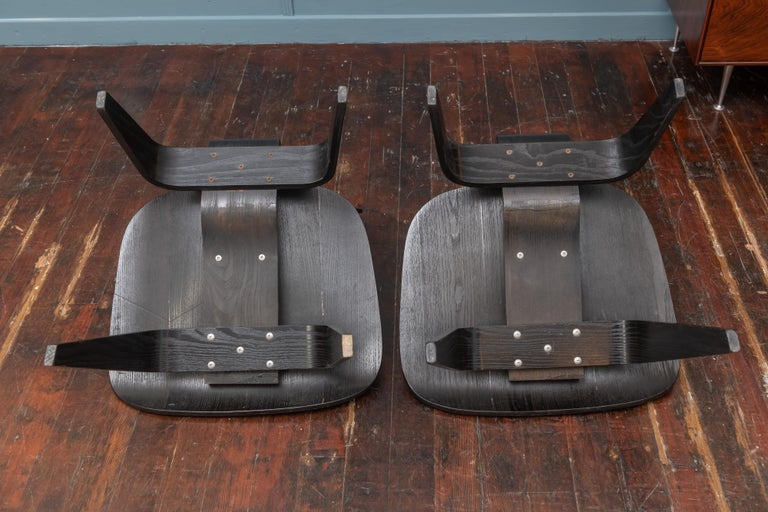 Charles Eames LCW Lounge Chairs For Sale 5